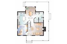 Country Floor Plan - Main Floor Plan Plan #23-2502