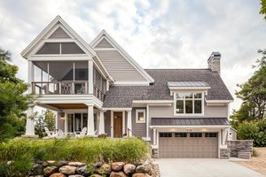 Dream House Plan - Contemporary Exterior - Front Elevation Plan #928-274