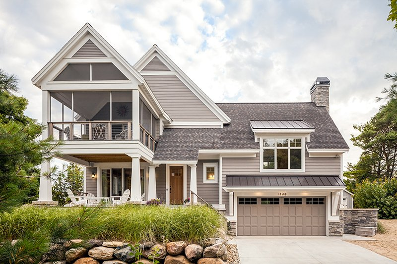 Architectural House Design - Contemporary Exterior - Front Elevation Plan #928-274