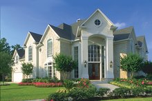 House Plan Design - Mediterranean Exterior - Front Elevation Plan #1021-6