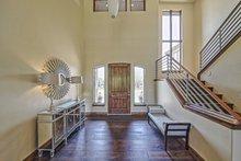 Architectural House Design - Adobe / Southwestern Interior - Entry Plan #451-25