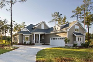 Country Exterior - Front Elevation Plan #938-64