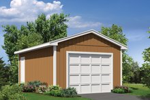 House Plan Design - Exterior - Front Elevation Plan #57-631