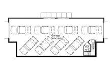 Ranch Floor Plan - Other Floor Plan Plan #57-635