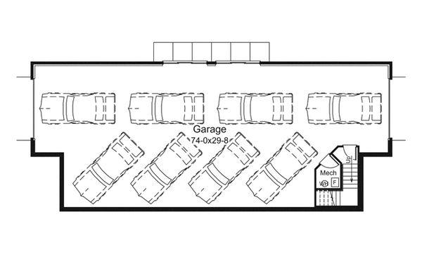 House Plan Design - Ranch Floor Plan - Other Floor Plan #57-635