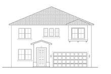 Architectural House Design - Mediterranean Exterior - Front Elevation Plan #1058-61