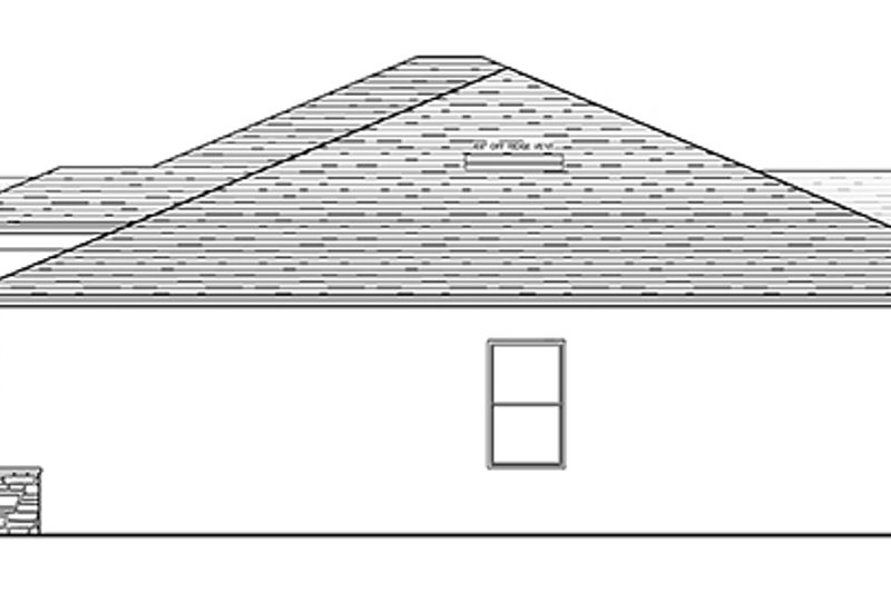 Mediterranean Exterior - Other Elevation Plan #1058-116 - Houseplans.com