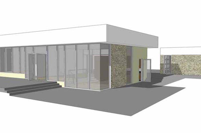 Traditional Exterior - Rear Elevation Plan #64-288 - Houseplans.com