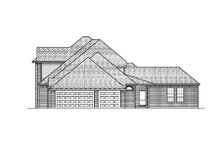 House Design - European Exterior - Rear Elevation Plan #84-409