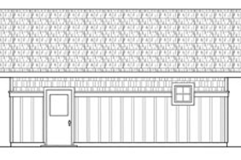 Craftsman Exterior - Other Elevation Plan #124-631 - Houseplans.com