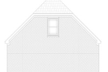 Country Exterior - Rear Elevation Plan #932-84