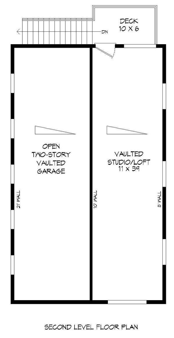Dream House Plan - Contemporary Floor Plan - Upper Floor Plan #932-246