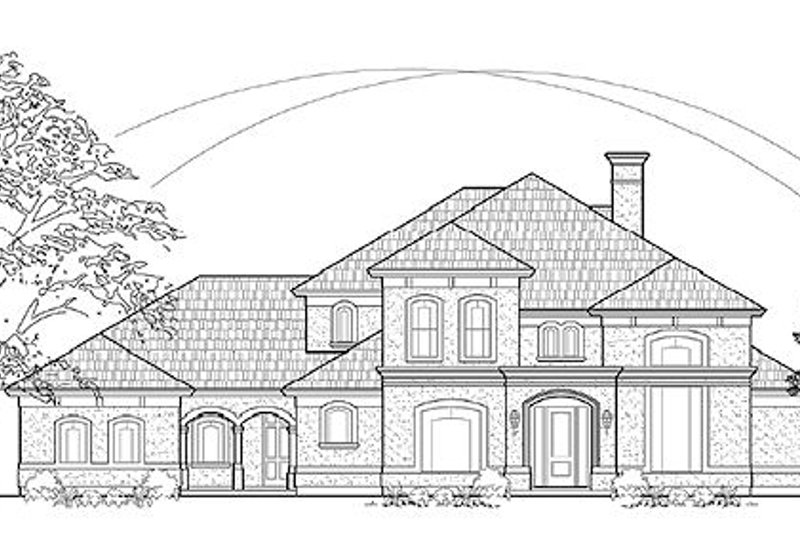 Traditional Exterior - Front Elevation Plan #61-285