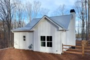 Country Style House Plan - 2 Beds 1 Baths 793 Sq/Ft Plan #437-98 Exterior - Rear Elevation