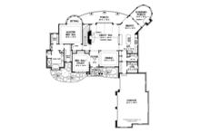 Craftsman Floor Plan - Main Floor Plan Plan #929-931