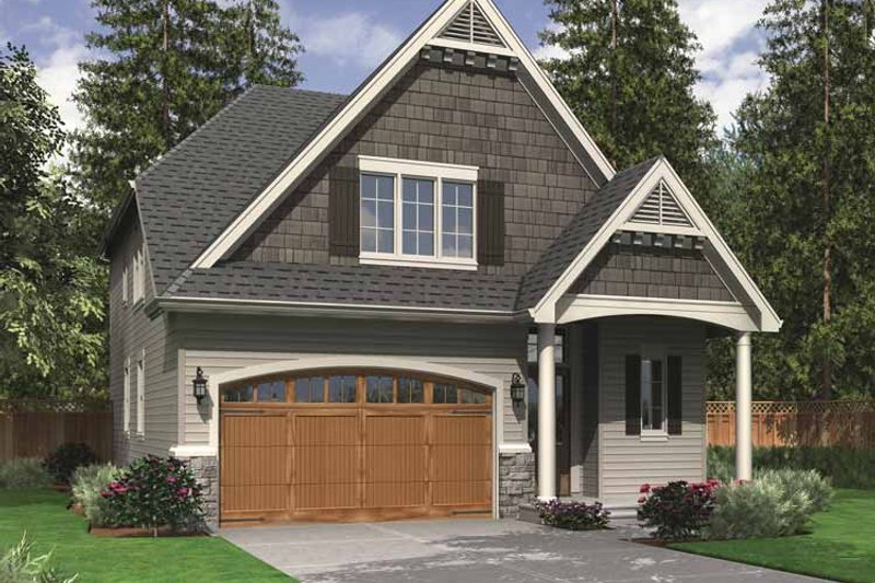 Home Plan - Traditional Exterior - Front Elevation Plan #48-856