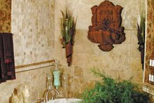 Mediterranean Interior - Bathroom Plan #453-383