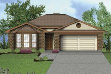 House Plan Design - Traditional Exterior - Front Elevation Plan #84-750