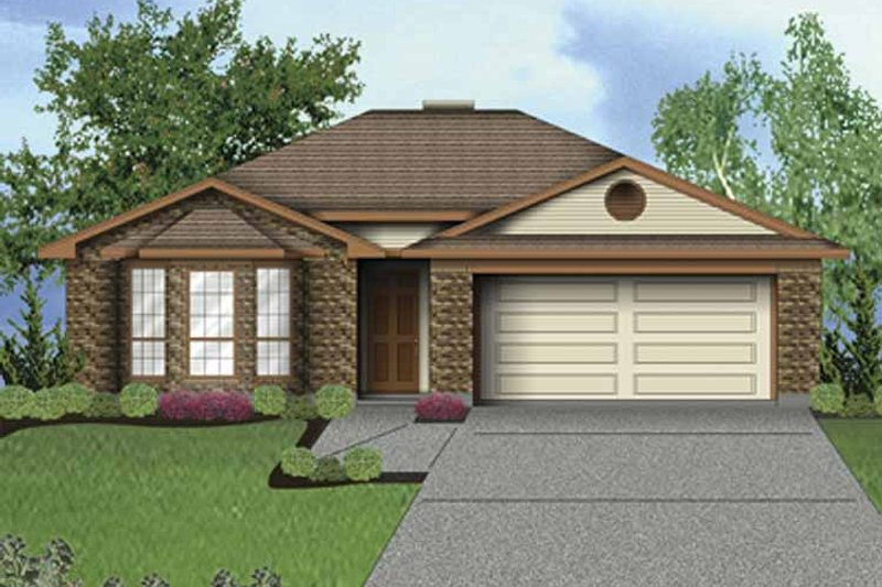 Traditional Exterior - Front Elevation Plan #84-750