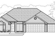Traditional Style House Plan - 4 Beds 2 Baths 2081 Sq/Ft Plan #65-238