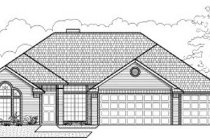 Traditional Exterior - Front Elevation Plan #65-238
