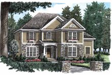 House Plan Design - Country Exterior - Front Elevation Plan #927-842