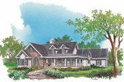 Country Style House Plan - 4 Beds 2.5 Baths 2361 Sq/Ft Plan #929-793 Exterior - Front Elevation