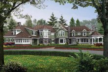 Craftsman Exterior - Front Elevation Plan #132-246