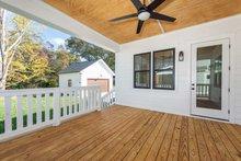 House Plan Design - Farmhouse Exterior - Outdoor Living Plan #461-74