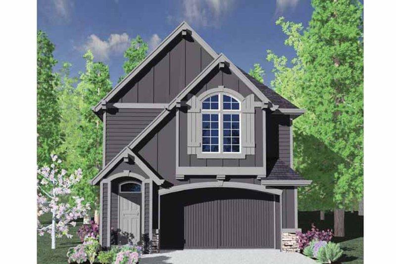 Craftsman Exterior - Front Elevation Plan #509-174