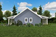 Cottage Style House Plan - 2 Beds 1 Baths 960 Sq/Ft Plan #48-951 Exterior - Other Elevation