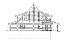 Home Plan - Log Exterior - Rear Elevation Plan #117-826