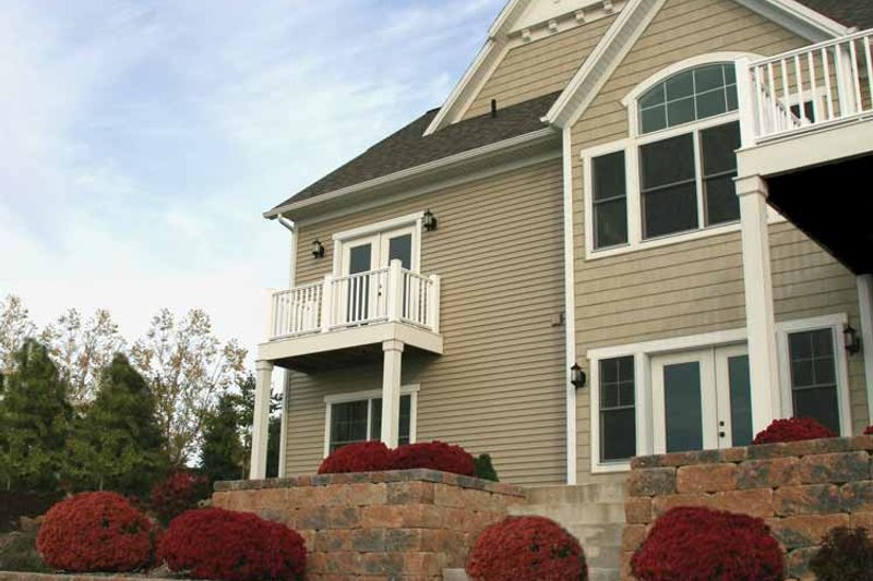 Craftsman Exterior - Rear Elevation Plan #928-91 - Houseplans.com