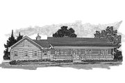 Ranch Style House Plan - 3 Beds 2 Baths 1652 Sq/Ft Plan #47-1023