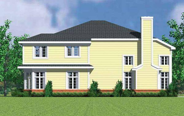 Country Floor Plan - Other Floor Plan Plan #72-1128