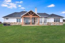 Dream House Plan - Craftsman Exterior - Rear Elevation Plan #430-179