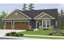 House Plan Design - Craftsman Exterior - Front Elevation Plan #943-3