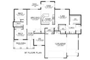 Ranch Style House Plan - 3 Beds 2.5 Baths 2120 Sq/Ft Plan #1064-34 Floor Plan - Main Floor