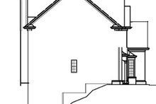 House Plan Design - Country Exterior - Other Elevation Plan #54-180