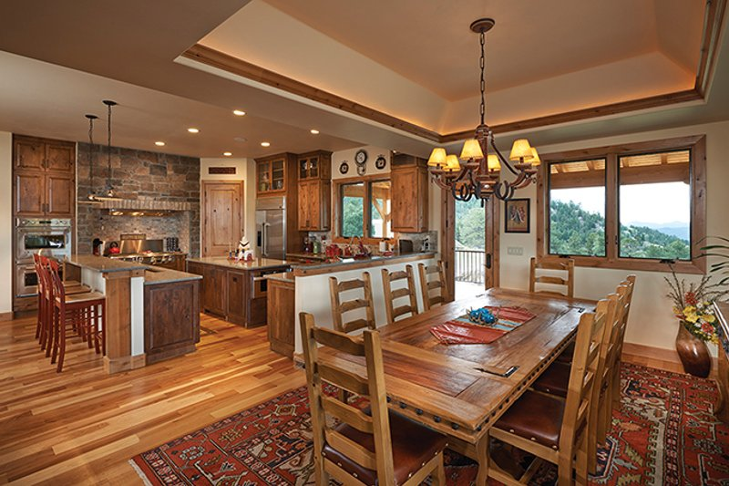 Craftsman Interior - Dining Room Plan #942-30 - Houseplans.com
