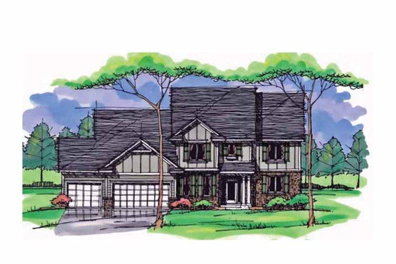 Colonial Exterior - Front Elevation Plan #51-1019 - Houseplans.com