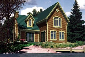 Craftsman Exterior - Front Elevation Plan #138-308