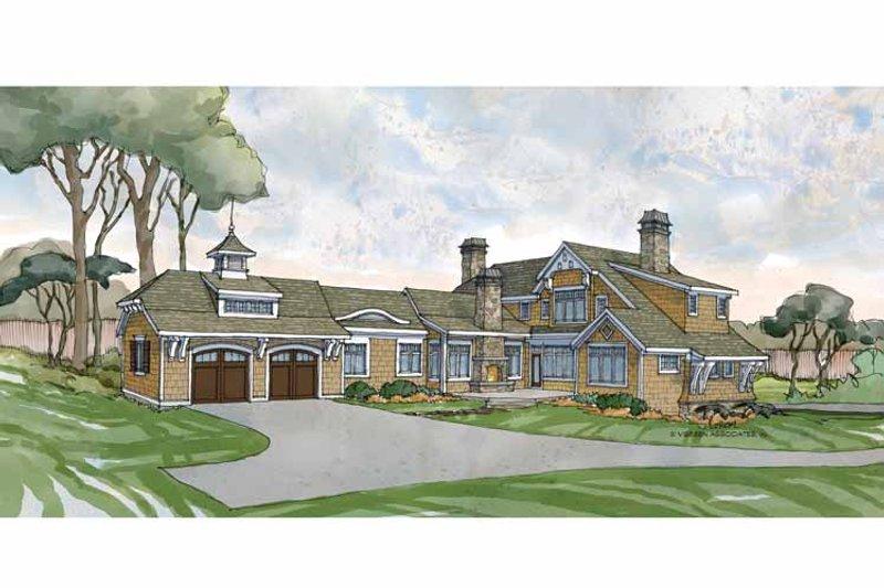 Craftsman Exterior - Rear Elevation Plan #928-235 - Houseplans.com
