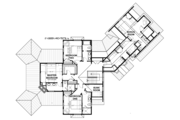 Country Style House Plan - 3 Beds 4 Baths 3347 Sq/Ft Plan #928-290 Floor Plan - Upper Floor Plan