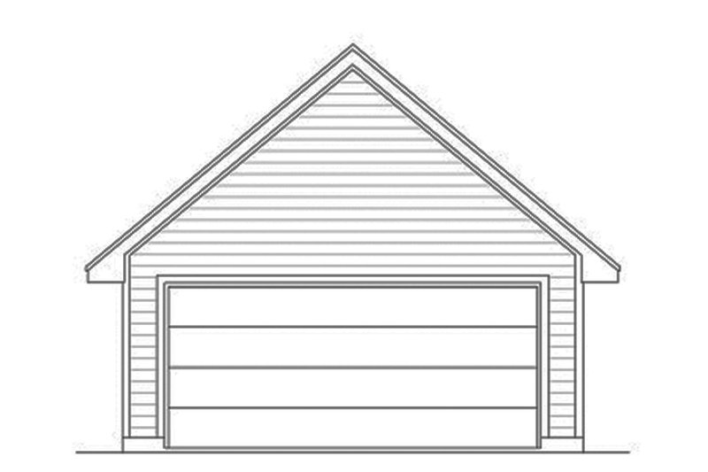 Detached Garage Front