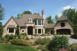 Tudor Exterior - Front Elevation Plan #928-61
