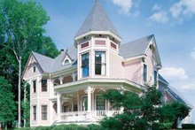Victorian Exterior - Front Elevation Plan #1047-24