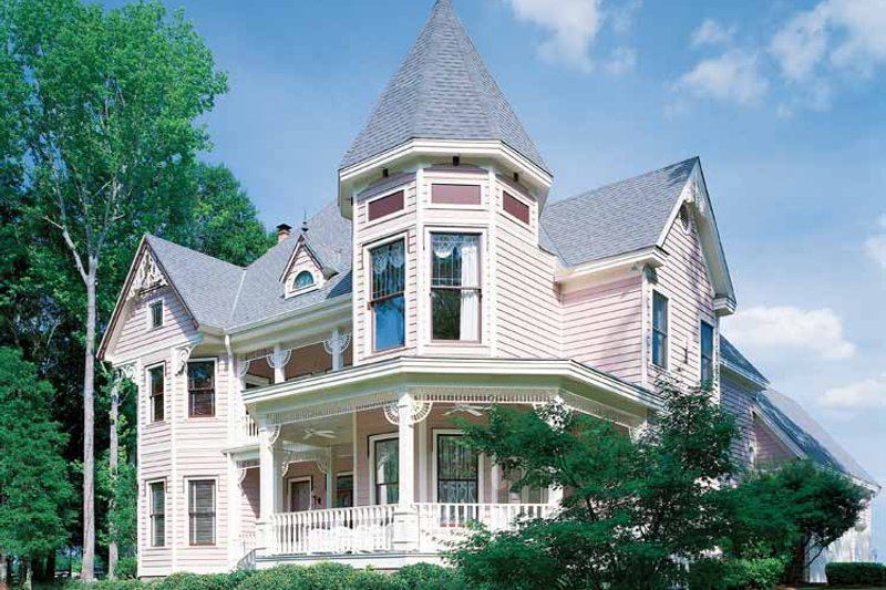 Victorian Exterior - Front Elevation Plan #1047-24 - Houseplans.com