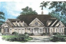 Dream House Plan - Country Exterior - Front Elevation Plan #929-649