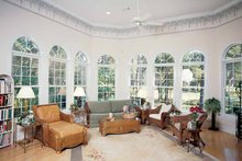 Home Plan - Mediterranean Interior - Family Room Plan #54-187
